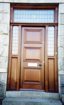 Stewart anderson joinery ellon aberdeenshire doors for Anderson interior doors